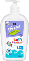 BELLA HAPPY BABY Natural Care mycí gel na tělo a vlasy 300ml