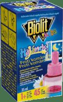 BIOLIT Náhradná náplň do elektrického odparovača BIOLIT Kids HAJÁNEK