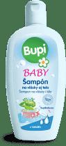 BUPI Dětský tělový a vlasový šampón 200ml