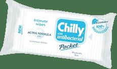 CHILLY Vlhčené obrúsky Antibacterial 12 ks