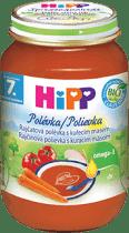 HIPP BIO Paradajková polievka s kuracím mäsom (190 g)