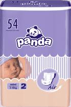 BELLA PANDA Mini 54 szt. (3-6 kg) – pieluszki jednorazowe