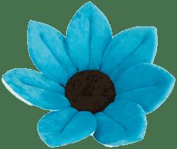 BLOOMINGBATH - kwiatek do kąpieli. Niebieski