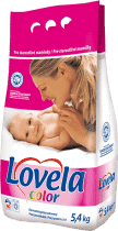 LOVELA Color 5,4 kg (60 prań) - proszek do prania