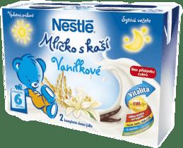 NESTLÉ vanilkové mlíčko s kaší (2x200 ml)