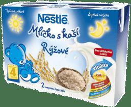 NESTLÉ rýžové mlíčko s kaší (2x200 ml)
