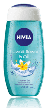NIVEA Sprchový gél Hawaiian Flower & Oil (250ml)