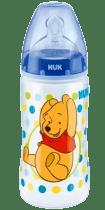 NUK FC+ Butelka Disney (silikon) 300 ml – niebieska