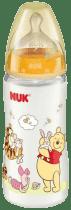 NUK FC fľaša Disney (silikón) 300ml-oranžová