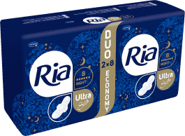 Ria Ultra Silk Night Duopack (2 x 8 ks)