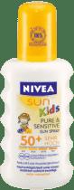 NIVEA Sun Pure&Sensitive Spray do opalania dla dzieci OF 50+, 200ml
