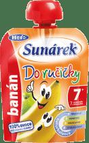 SUNÁREK Do ručičky banán 90g - ovocný příkrm