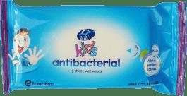 UNI KIDS Antybakteryjne chusteczki nawilżane 15 szt.