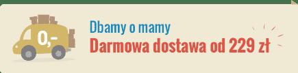 doprava zdarma nad 229 zł - nove
