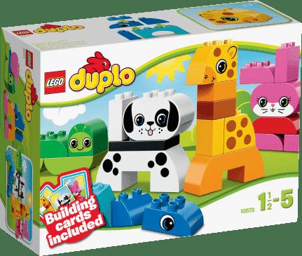 LEGO® DUPLO® Kreatywne zwierzątka
