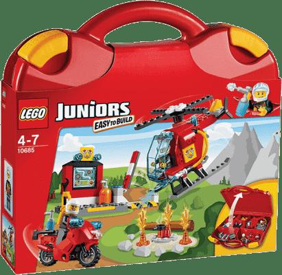 LEGO® Juniors Straż pożarna – Walizeczka