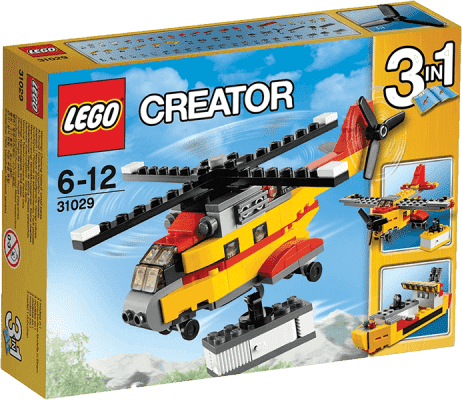 LEGO® CREATOR Nákladná helikoptéra