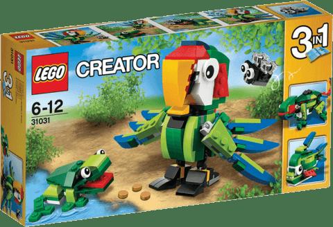 LEGO® Creator Zwierzęta z lasu deszczowego