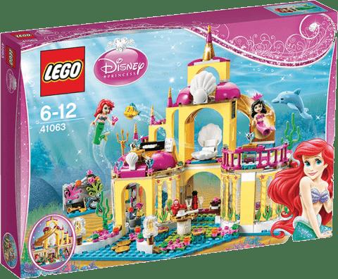 LEGO® Disney Princezny™ Podvodní palác Ariely