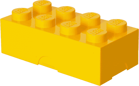 LEGO® Box na svačinu, žlutá