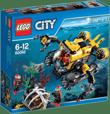 LEGO® City Deep Sea Explorers Hlubinná ponorka