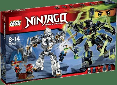 LEGO® Ninjago Starcie tytanów Mech