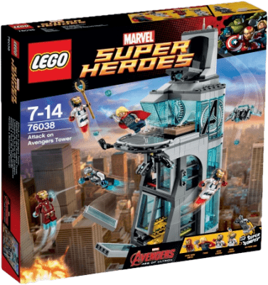 LEGO® Super Heroes Útok na věž Avengerů