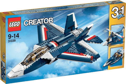LEGO® Creator Stíhačka Blue Power