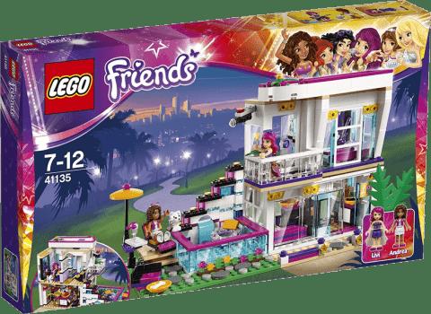 LEGO® Friends Dom gwiazdy pop Livi