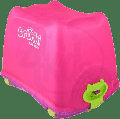 TRUNKI Box na hračky 4v1 ružový