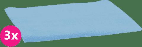SCAMP Pleny bavlněné světle modré 3ks