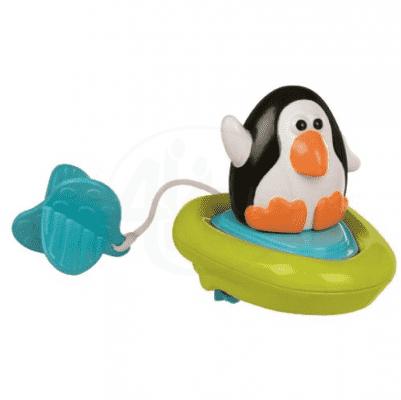 SASSY Natahovací lodička tučňák