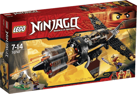 LEGO® Ninjago Kruszarka skał