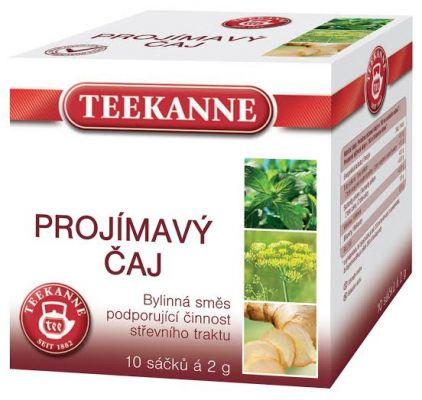 TEEKANNE bylinný čaj - preháňajúci čaj, 10 sáčkov