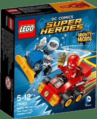 LEGO® Super Heroes Mighty Micros: Flash vs. Kapitán Cold