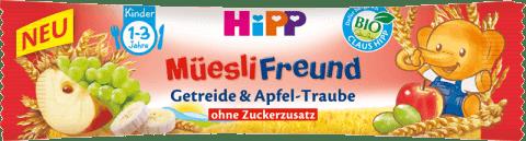 Expirace 19.7.2016 HIPP BIO müsli tyčinka jablečno - hroznová 20g