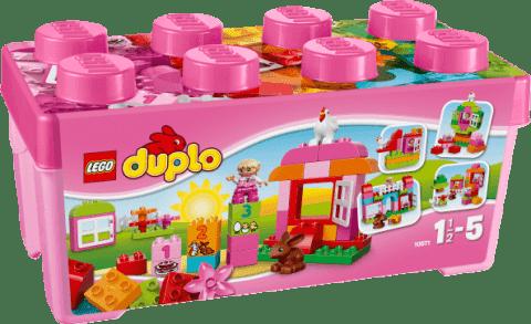 LEGO® DUPLO® 10571 Ružový box plný zábavy
