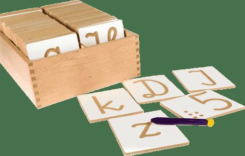 PILCH Alfabet polski pisany + cyfry