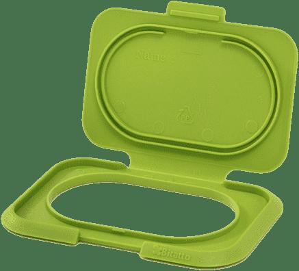BITATTO uzáver na vlhčené obrúsky - zelená