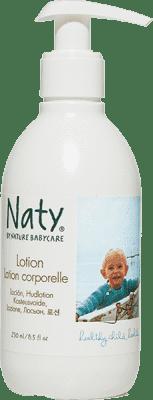 NATY NATURE BABYCARE ECO dětská tělové mléko 250 ml