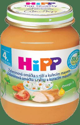 HIPP BIO Zeleninová omáčka s ryžou a kuraťom 125g