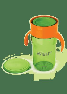 AVENT První skutečný hrneček 340 ml - zelený