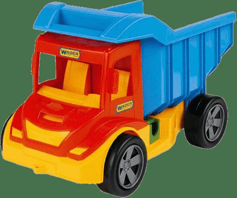 WADER Auto multitruck sklápěč - plast WADER