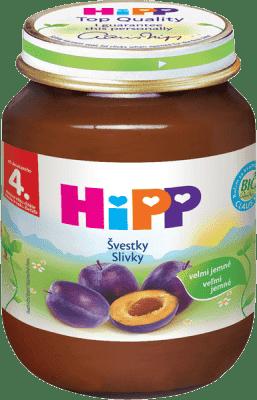 HIPP BIO švestkový (125 g) - ovocný příkrm