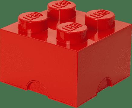 LEGO® Box do przechowywania rozmiar 3 czerwony