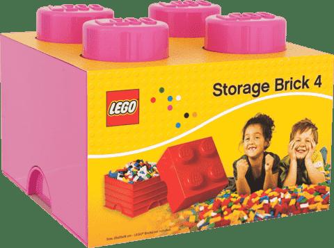 LEGO® Úložný box veľkosť 3 ružová