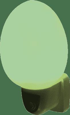 ANSMANN Světlo do dětského pokoje, vajíčko – zelené