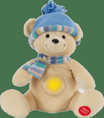ANSMANN Plyšové zvieratko so svetielkom - medvedík TOBI
