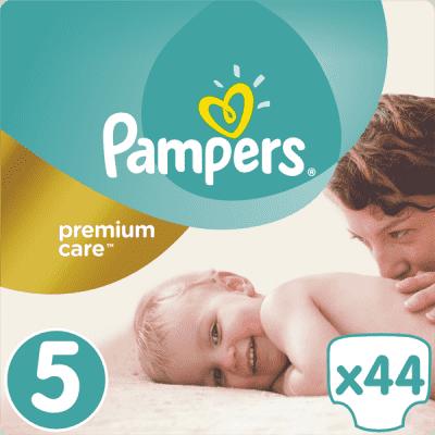 PAMPERS Premium Care 5 JUNIOR 44ks (11-18 kg) - jednorázové pleny
