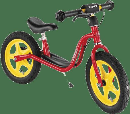 PUKY Odrážedlo s brzdou Learner Bike LR 1 BR, červené